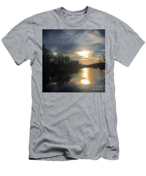 Sunset  Men's T-Shirt (Slim Fit) by Jason Nicholas