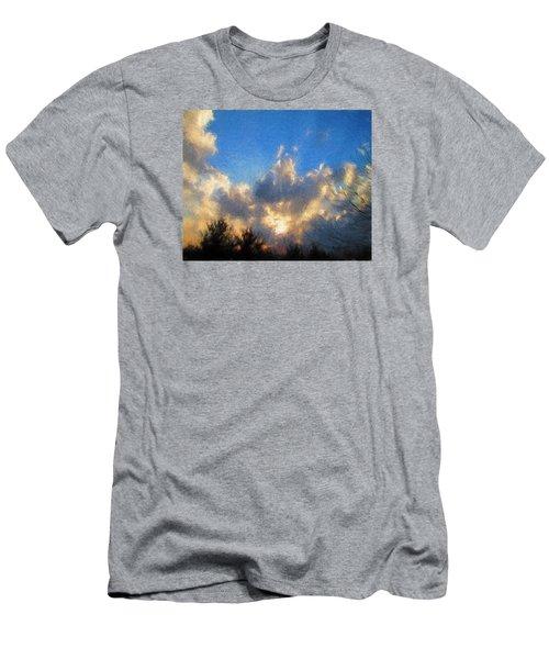 Sunset Men's T-Shirt (Slim Fit) by John Freidenberg