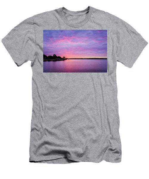 Sunset Lake Arlington Texas Men's T-Shirt (Athletic Fit)