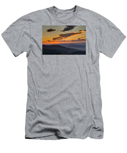 Men's T-Shirt (Athletic Fit) featuring the photograph Sunset Layers by David R Robinson