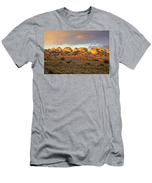 Sunset On Capitol Reef Men's T-Shirt (Athletic Fit)
