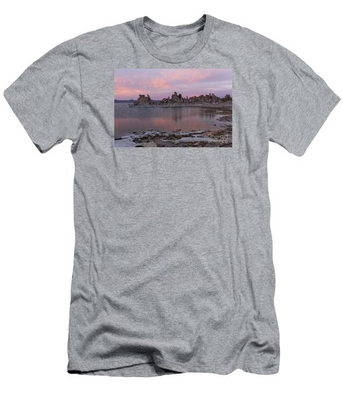 Men's T-Shirt (Slim Fit) featuring the photograph Sunset On Mono Lake by Sandra Bronstein