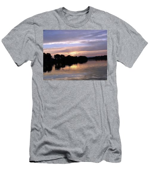Sunset On The Snake Men's T-Shirt (Athletic Fit)