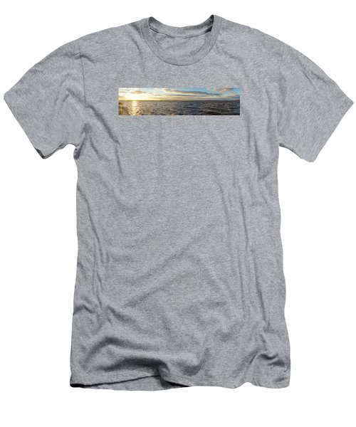 Men's T-Shirt (Athletic Fit) featuring the photograph Sunset Over Cape Fear River by Willard Killough III