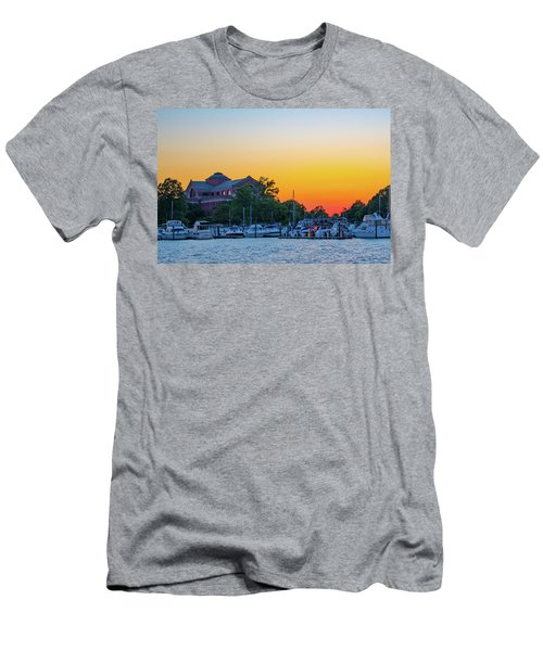 Sunset Over The National War College  Men's T-Shirt (Athletic Fit)