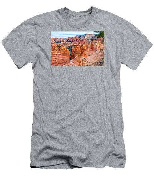 Men's T-Shirt (Slim Fit) featuring the photograph Sunset Point Tableau by John M Bailey
