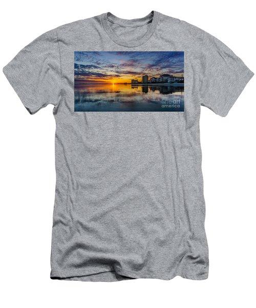 Sunset Reflection Men's T-Shirt (Athletic Fit)