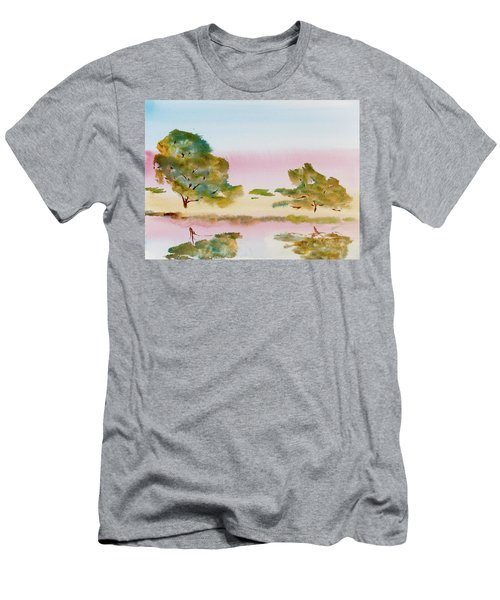 Reflections At Sunrise Men's T-Shirt (Athletic Fit)