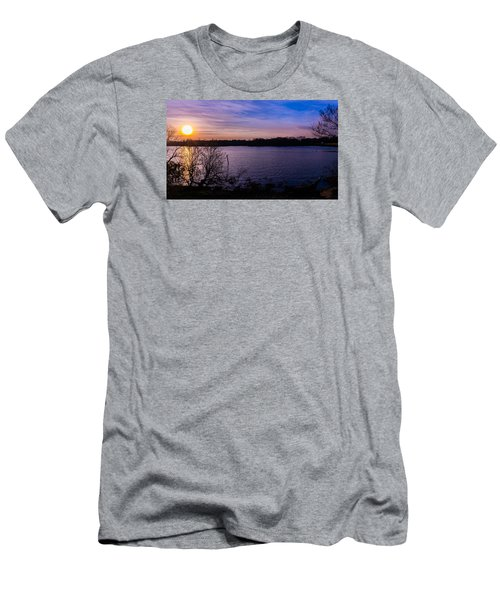 Sunset River Men's T-Shirt (Athletic Fit)