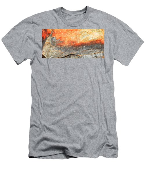 Sunset Rock Scene Men's T-Shirt (Athletic Fit)