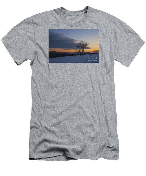 Sunset Solitude Men's T-Shirt (Slim Fit) by Alana Ranney