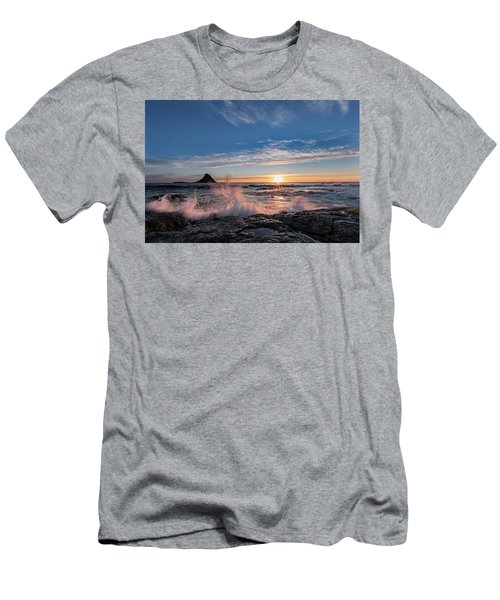 Sunset Splash II Men's T-Shirt (Athletic Fit)