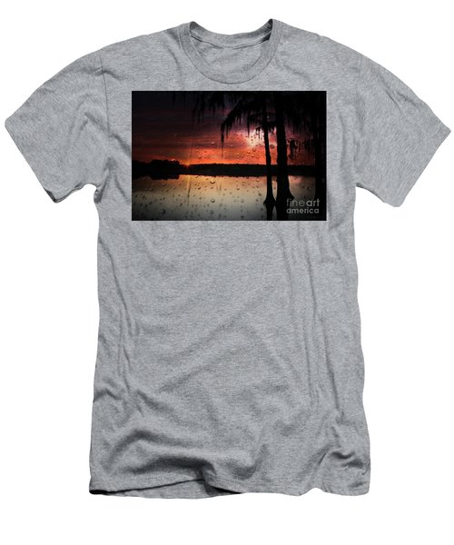 Sunset Storms Men's T-Shirt (Athletic Fit)