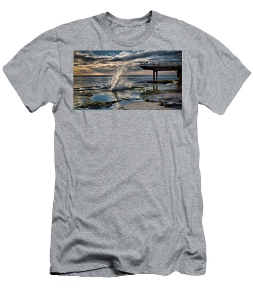 Sunsets Show Men's T-Shirt (Athletic Fit)