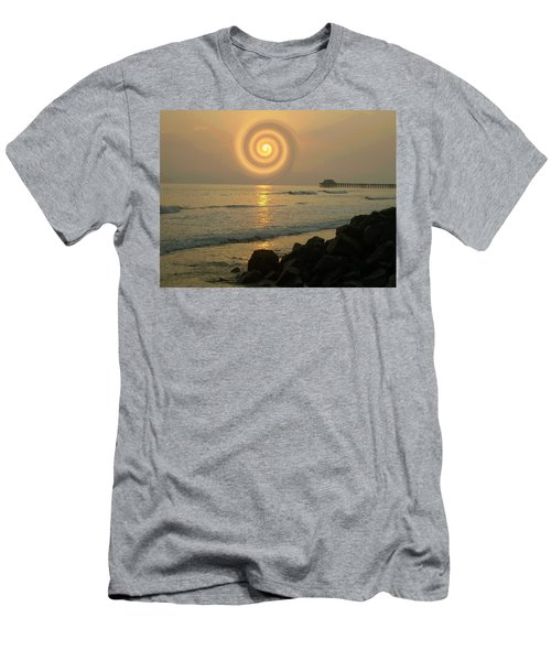 Sunsetswirl Men's T-Shirt (Athletic Fit)