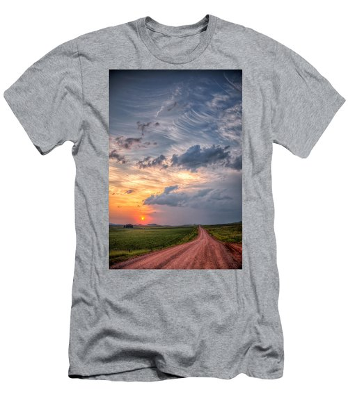 Sunshine And Storm Clouds Men's T-Shirt (Athletic Fit)