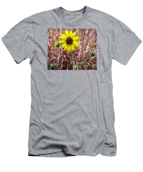 Men's T-Shirt (Slim Fit) featuring the photograph Sunshine by Elaine Malott