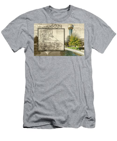 Sunsphere Mapped Men's T-Shirt (Athletic Fit)