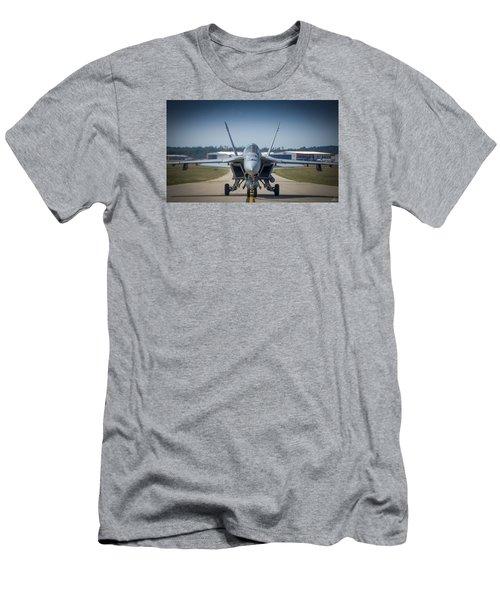 Super Hornet 002 Men's T-Shirt (Athletic Fit)