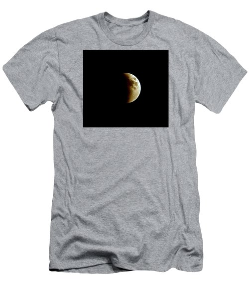 Super Moon Eclipse 2015 Men's T-Shirt (Slim Fit) by Diana Angstadt