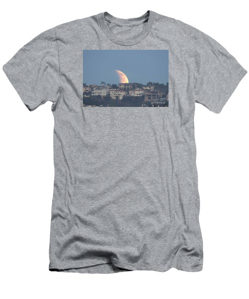 Super Moon Rise Men's T-Shirt (Slim Fit)