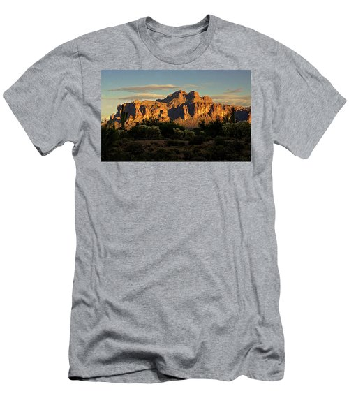 Superstitions At Sunset  Men's T-Shirt (Athletic Fit)