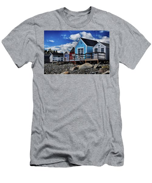 Surf Shacks Men's T-Shirt (Athletic Fit)