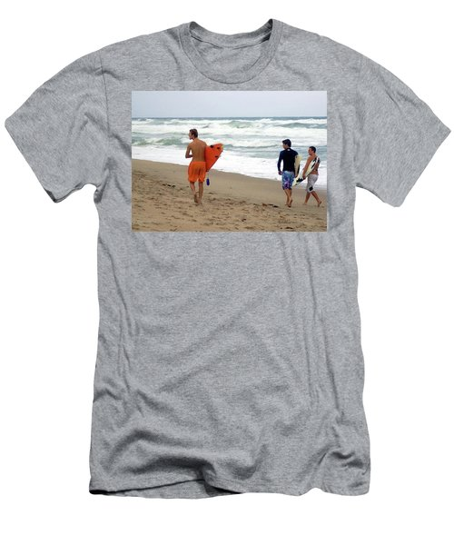 Surfs Up Boys Men's T-Shirt (Athletic Fit)