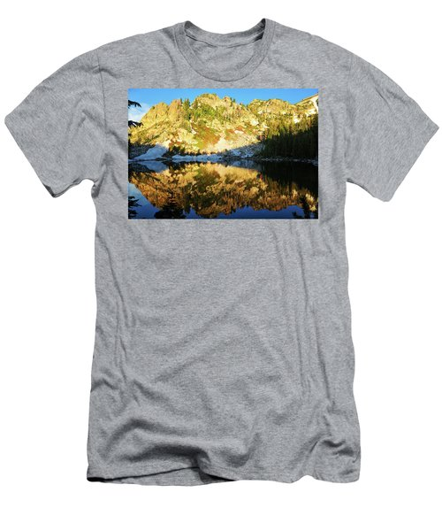 Surprise Lake Morning Reflections Men's T-Shirt (Athletic Fit)