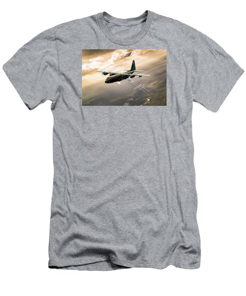 Surprise Package Men's T-Shirt (Slim Fit) by Peter Chilelli
