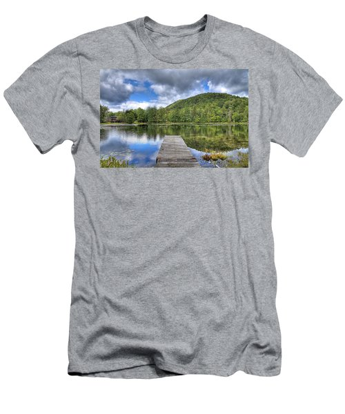 Men's T-Shirt (Athletic Fit) featuring the photograph Surprise Pond At Palmer Point by David Patterson