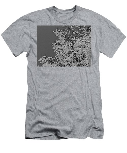 Surreal Deconstruction Of Fall Foliage In Noir Men's T-Shirt (Athletic Fit)