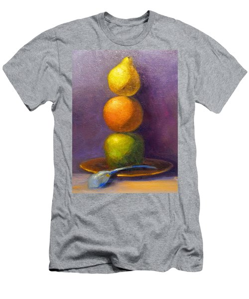 Suspenseful Balance Men's T-Shirt (Athletic Fit)