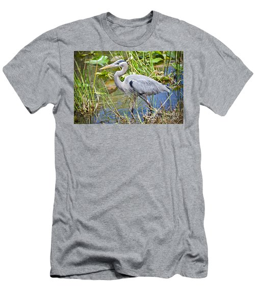 Swamp Stomp Men's T-Shirt (Slim Fit) by Judy Kay