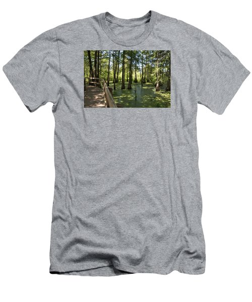 Swamps Men's T-Shirt (Slim Fit) by Helen Haw