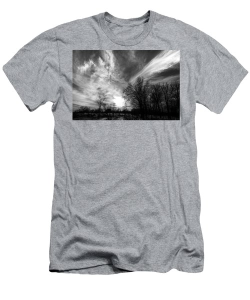 Sweeping Sky Men's T-Shirt (Athletic Fit)