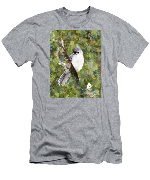 Sweet And Endearing Men's T-Shirt (Slim Fit) by Tina  LeCour