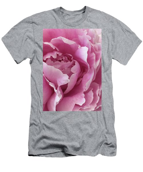 Men's T-Shirt (Slim Fit) featuring the photograph Sweet As Cotton Candy by Sherry Hallemeier