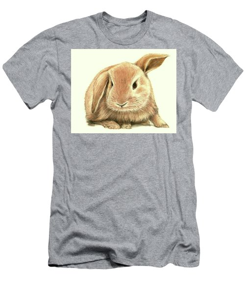 Sweet Bunny Men's T-Shirt (Slim Fit) by Heidi Kriel