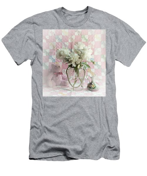 Sweet Memories Of Four Generations Men's T-Shirt (Slim Fit) by Sherry Hallemeier