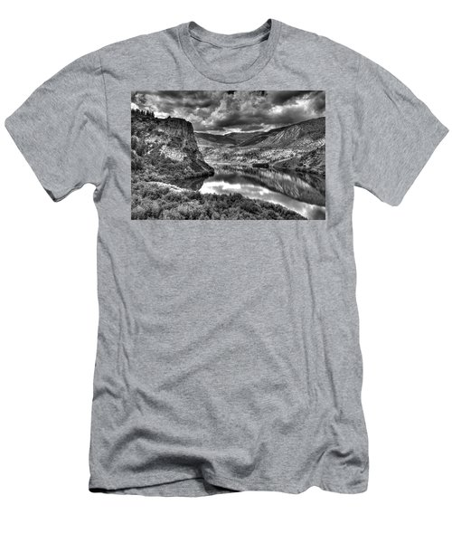 Sweetwater Lake 2 Bw Men's T-Shirt (Athletic Fit)