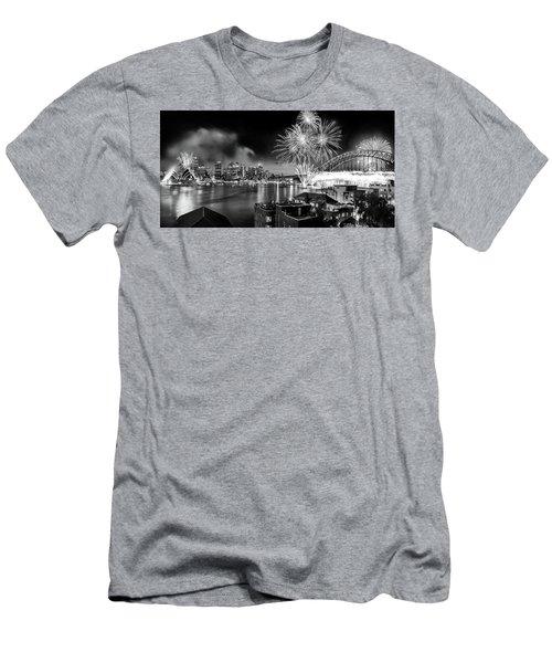 Men's T-Shirt (Slim Fit) featuring the photograph Sydney Spectacular by Az Jackson