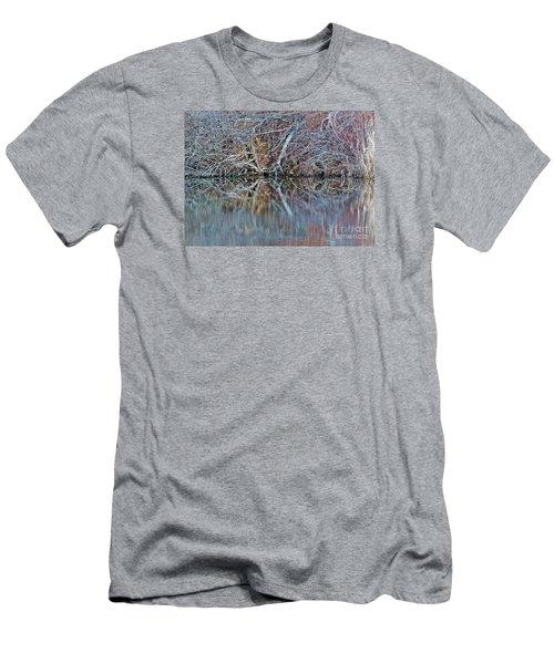 Men's T-Shirt (Slim Fit) featuring the photograph Symmetry by Christian Mattison