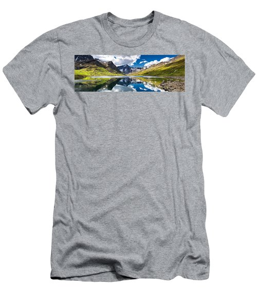 Symphony Lake  Men's T-Shirt (Athletic Fit)