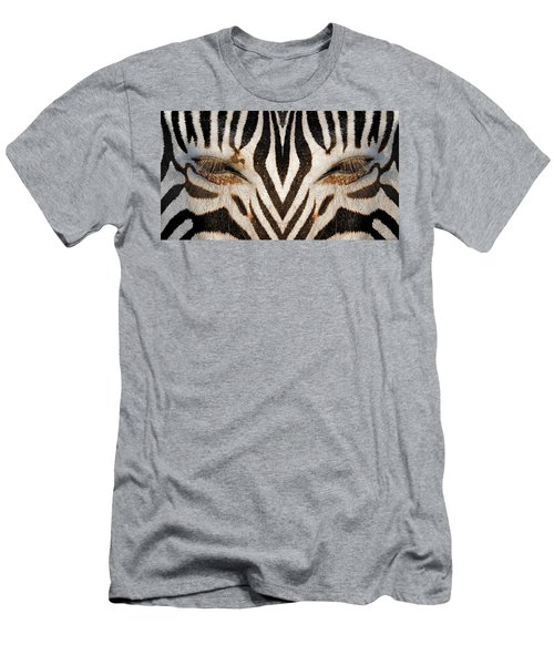 Synthetic Zebra Men's T-Shirt (Athletic Fit)