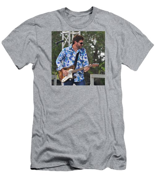 Tab Benoit And 1972 Fender Telecaster Men's T-Shirt (Athletic Fit)
