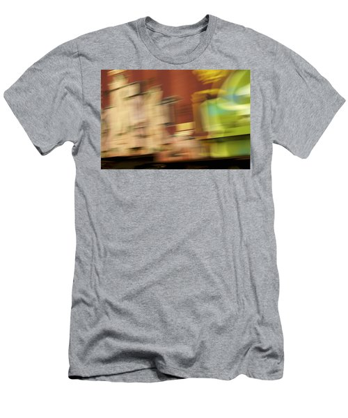 Tagged - Train Graffiti Men's T-Shirt (Slim Fit) by Jane Eleanor Nicholas