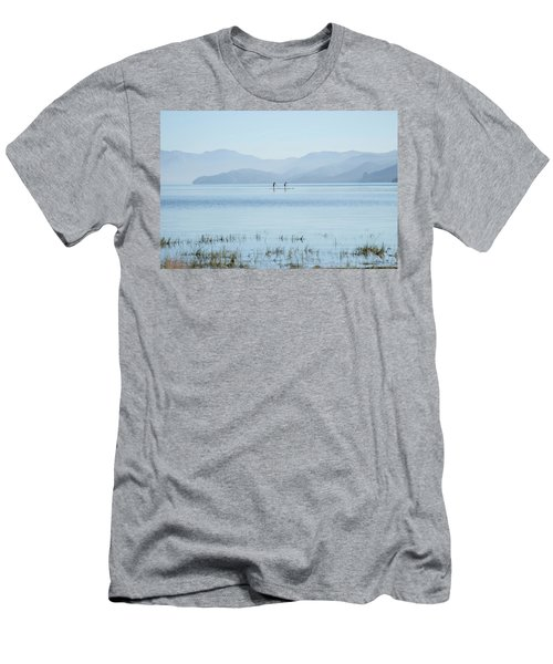 Tahoe Paddle Boarders Men's T-Shirt (Athletic Fit)