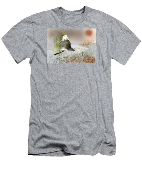 Take Off Men's T-Shirt (Slim Fit) by Gary Bridger