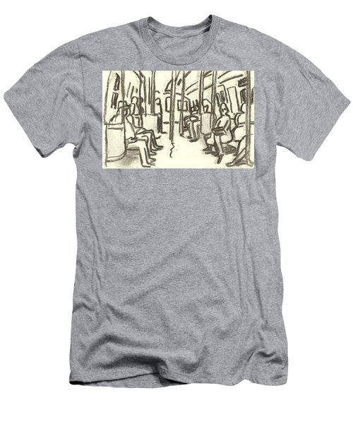 Take The A Train, Nyc Men's T-Shirt (Athletic Fit)